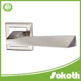 2016 S/N European Zinc Door Handle, Chrome Door Handle Lever
