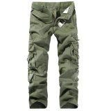 Casual Cargo Work Trousers Slacks Military Overalls