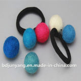 Felt Ball Ruber Band for Girls