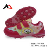 Walking Sports Shoes Comfort Carton Printing Footwear for Children (AK621-2)
