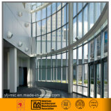 Exposed Frame Curtain Wall for Office Building (Aluminum/Glass)