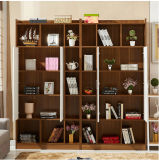 New Design Wood MDF Bookshelf Modern 2017 Scandinavian Wood MDF Bookcase