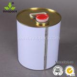 Custom Painted Metal Drum with Oil Spout 25L Oil Pail