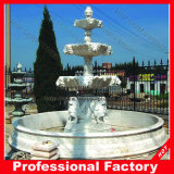 Outdoor Beautiful Hand Carved Marble Stone Fountain