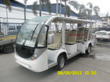 14 Seat Electric Tourist Bus Electric Shuttle Bus Mini School Bus