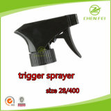 28/400 Discharge Rate 0.8ml Ribbed Closure Handhold Trigger Sprayer Pump