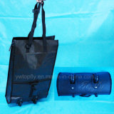 Supermarket Cart Bag Made of PP Woven and Wheels