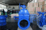 BS5163 DIN3302 Ductile Cast Iron Rubber Coated Gate Sluice Valve (Z45X-10/16)