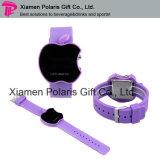 Trendy Apple Shape Plastic Wristband Children LED Digital Electronic Watch