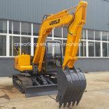 Small Hydraulic Excavator, 8ton Rotary Excavator