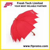 Anomalous Manual Open Umbrella with Logo