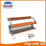 Cast Iron Feet Wooden Bench, Park Furniture