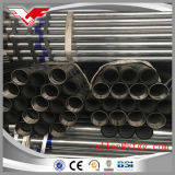 Hot Dipped Galvanized Welded Round Steel Pipes with Threaded and Coupling