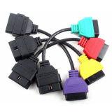 for FIAT ECU Scan Adaptors OBD Diagnostic Cable Four Colors