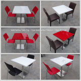 Korean Solid Surface Restaurant Stone Table Top