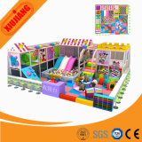 Exhibition Hall Indoor Playground Small Candy Plastic Slide (XJ5003)