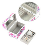 Aluminum Printing Vintage Style Makeup Case with Mirror