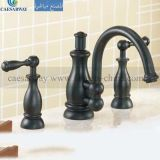 Blackened 3 Way Bathtub Faucet Mixer
