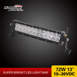 13.5inch CREE Remote Strobe Flashlight Curved LED Light Bar