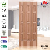 Jhk-013 Grid Layout Style Hotel Project Beech Supplier Door Skin