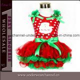 2015 Wholesale Santa Christmas New Year Kid Party Dress (TYG0237)