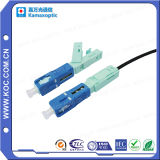 Sc Singlemode Simplex Optical Fiber Quick Connector