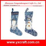Christmas Decoration (ZY11S144-1-2) Christmas Felt Holiday Stocking