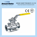 Smart 3PCS Hoop End Ss Ball Valve