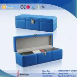 Wholesale Luxury Blue Custom Leather Wine Gift Box (6411R1)