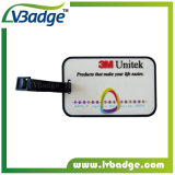 Custom Soft PVC Luggage Travel Tag