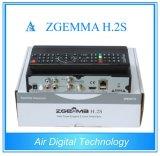 Twin Sat Tuner Zgemma H2s Original Enigma2 Dvbs2 Satellite Recdeiver