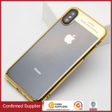 Ultra Thin Transparent Acrylic Back Cover Phone Cases for iPhone X
