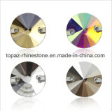 Round Crystals Beads Rhinestones Long Drop Accessories Sew on for Dress Stones 2 Hole (TP-round)