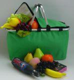 Collapsible Insulated Picnic Basket Thermal Picnic Hamper Cooler Picnic Bag