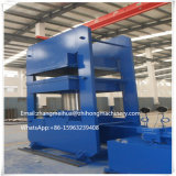 PLC Control HMI Touch Screen Frame Type Rubber Curing Press