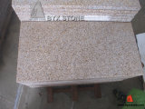 Rusty Yellow Granite G682 Bush Hammered Paving Stone Tile