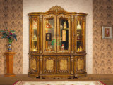 Classic Wine Cabinet with Four Glass Doors (YF-HX8018)