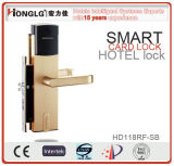 High Security Aluminum Alloy Electronic Smart Card Lock for Hotels and Resorts (HD118)