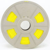 PLA 1.75mm Yellow 3D Printing Filament for 3D Printer