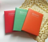 Long Colorful Agenda Notebook with Elastic Band