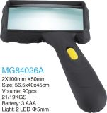 Hand Magnifier with 2 LED