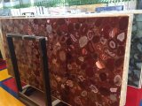 Luxury Design Gemstone Slabs with Red Agate