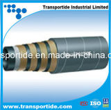 Hydraulic Rubber Hose with Wire Spiral for Extreme High Pressure