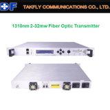CATV 1310nm 2-30MW Fiber Optic Transmitter