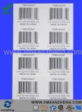 Paper Barcode Sticker with Item No