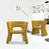 Modern Design Wool Fabric Bar Chair
