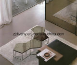 Modern Style Stainless Steel Marble Coffee Table (T-56A & T-56B)