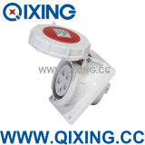 16A 3pin Panel Mounted Single Phase Industrial Socket of Sea Machine