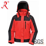 New Designed High Quality Waterproof Ski Jacket for Children (QF-302)