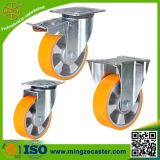 PU on Aluminium Core Wheels Swivel Casters